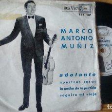 Discos de vinilo: E P (VINILO) DE MARCO ANTONIO MUÑIZ AÑOS 60. Lote 104037415