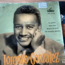 Discos de vinilo: E P (VINILO) DE LORENZO GONZALEZ AÑOS 50. Lote 104037587