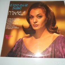Discos de vinilo: EL TORO AZUL DE PICASSO - MIKAELA - LP 1974 -LEA DENTROTÍTULOS. Lote 104045883
