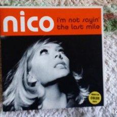 Discos de vinilo: NICO, I`M NOT SAYIN` AND THE LAST MILE. Lote 104056187