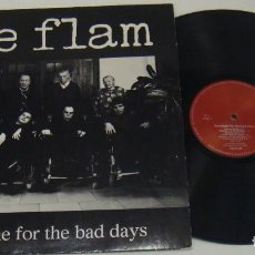Discos de vinilo: LP - THE FLAM - SOMEONE FOR THE BAD DAYS - 1ª EDICION MADE IN GERMANY - THE FLAM. Lote 104057295
