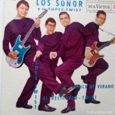 Discos de vinilo: LOS SONOR- SOLE TWIST- EL RELICARIO TWIST +2 - EP 1962- EXC. ESTADO.. Lote 104057667