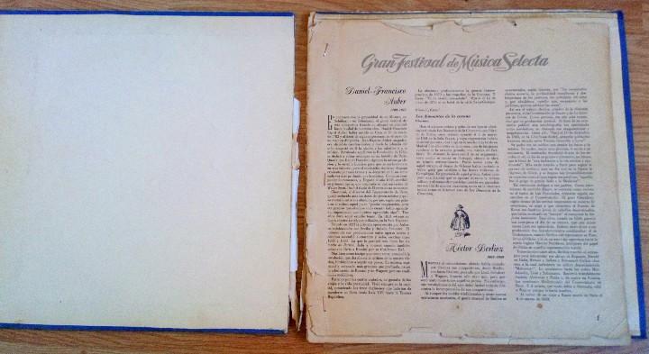 Discos de vinilo: BEETHOVEN 2 DISCOS Y ALBUM 1952 1a. EDICIÓN ALEMANIA DEUTSCHE GRAMMOPHON GESELLSCHAFT IX SINFONIE - Foto 5 - 104060871
