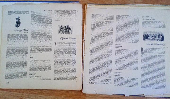 Discos de vinilo: BEETHOVEN 2 DISCOS Y ALBUM 1952 1a. EDICIÓN ALEMANIA DEUTSCHE GRAMMOPHON GESELLSCHAFT IX SINFONIE - Foto 9 - 104060871