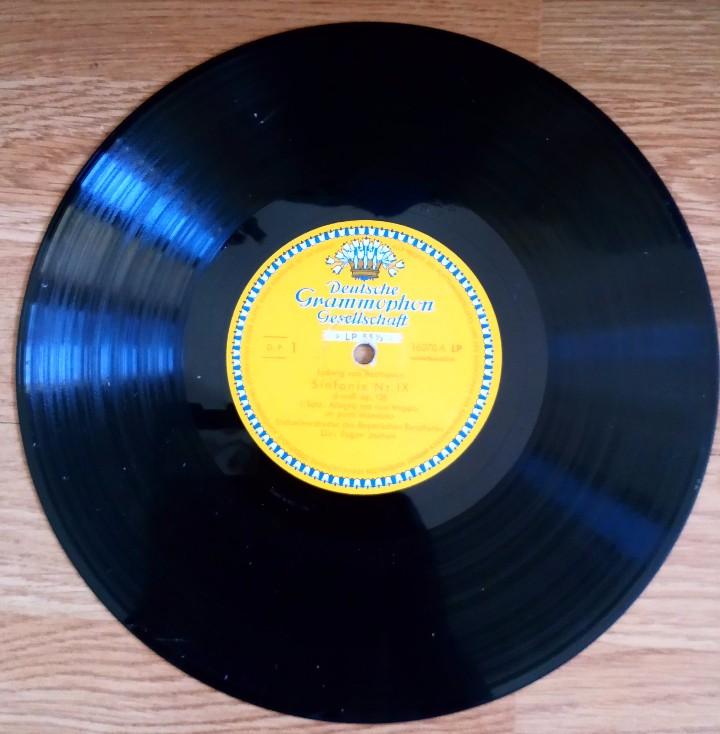 Discos de vinilo: BEETHOVEN 2 DISCOS Y ALBUM 1952 1a. EDICIÓN ALEMANIA DEUTSCHE GRAMMOPHON GESELLSCHAFT IX SINFONIE - Foto 10 - 104060871