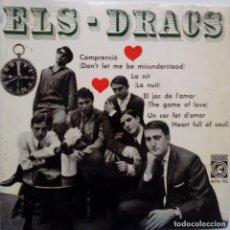 Discos de vinilo: ELS DRACS- COMPRENSIO- EL JOC DE L´AMOR + 2 - EP 1965 + INSERTO - EXC. ESTADO... Lote 104061831