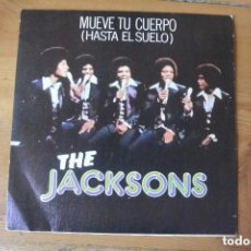 Discos de vinilo: DISCO SINGLE THE JACKSONS. MUEVE TU CUERPO. EPIC 1978. Lote 104062919