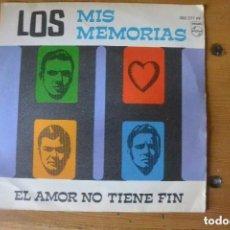 Discos de vinilo: DISCO SINGLE LOS MIS MEMORIAS. PHILIPS 1969. Lote 104063131