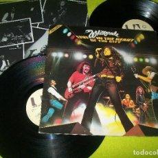 Discos de vinilo: WHITESNAKE - LIVE IN THE HEART OF THE CITY .. 2 LP´S .. 1º EDICION ORIGINAL U.K - CON INSERT. Lote 104070959