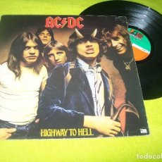 Discos de vinilo: AC / DC - HIGHWAY TO HELL ..LP DE 1ª EDICION . GERNANY - ATL 50628 - ATLANTIC - DE 1979 . Lote 104072927