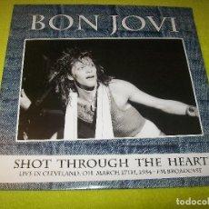 Discos de vinilo: BON JOVI - SHOT THROUGH THE HEART .LIVE IN CLEVELAND 1984 - 2015 - 2 LP´S LIMITADO SOLO 500 COPIAS. Lote 104078711