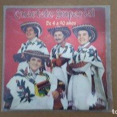 Discos de vinilo: SINGLE - CUARTETO IMPERIAL - DE 4 A 90 AÑOS - CBS A 2308 - 1982. Lote 104081731