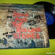 Discos de vinilo: THE ROLLING STONES - STONE AGE ..LP DE 1971 - DECCA .. 1ª EDICION ESPAÑOLA - LABEL AZUL OSCURO .. Lote 104082167