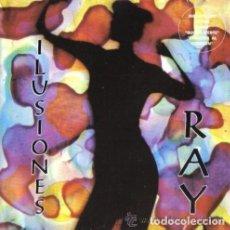 Discos de vinilo: RAY - ILUSIONES - 1993 SPANISH TECHNO - RARE. VINILO. Lote 104089087