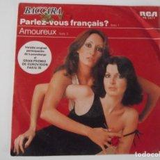 Discos de vinilo: BACCARA - PARLEZ-VOUS FRANÇAIS?. Lote 104093075
