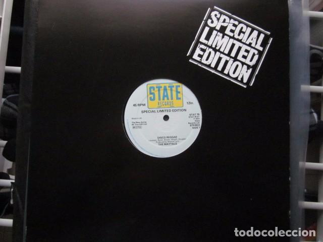 Discos de vinilo: THE MAYTALS - DISCO REGGAE - MAXI - 2 TEMAS - SPECIAL LIMITED EDITION FROM 1977. - Foto 1 - 114844183