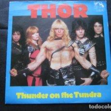 Discos de vinilo: THOR - THUNDER ON THE TUNDRA - SN - EDICION INGLESA DEL AÑO 1984.. Lote 104098623