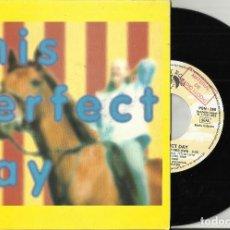 Discos de vinilo: THIS PERFECT DAY SINGLE PROMOCIONAL POR UNA SOLA CARA SHE'S GOT A HORSE OF HER OWN ESPAÑA 1993. Lote 104100503