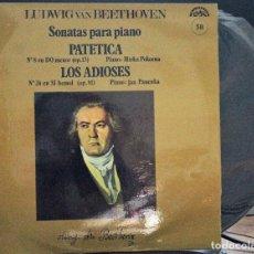 Discos de vinilo: REGALA-TE MÚSICA CLÁSICA: *SONATAS PARA PIANO* -BEETHOVEN- Nº 58. Lote 104114987