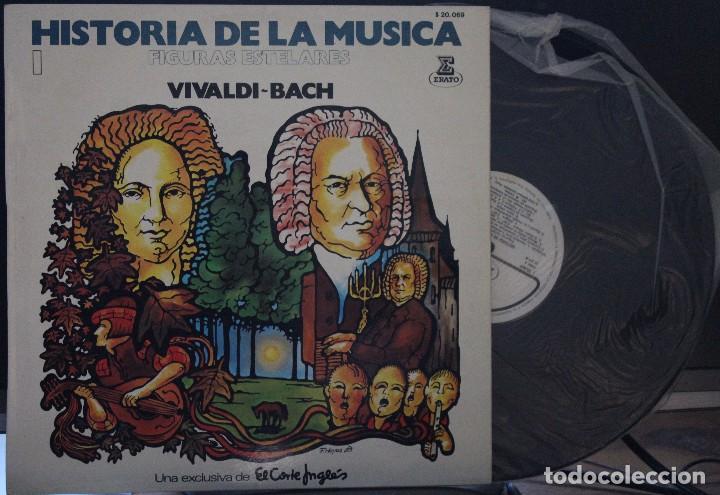 REGALA-TE MÚSICA CLÁSICA: *HISTORIA DE LA MÚSICA* -BACH-VIVALDI- (Música - Discos de Vinilo - Maxi Singles - Clásica, Ópera, Zarzuela y Marchas)