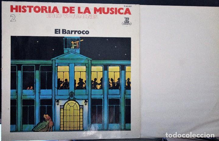 REGALA-TE MÚSICA CLÁSICA: *HISTORIA DE LA MÚSICA* -EL BARROCO- (Música - Discos de Vinilo - Maxi Singles - Clásica, Ópera, Zarzuela y Marchas)