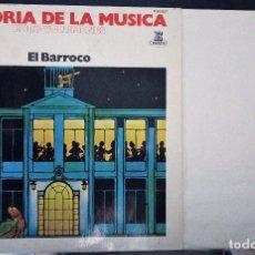 Discos de vinilo: REGALA-TE MÚSICA CLÁSICA: *HISTORIA DE LA MÚSICA* -EL BARROCO-. Lote 104116963