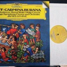 Discos de vinilo: REGALA-TE MÚSICA CLÁSICA: *CARMINA BURANA* -CARL ORFF-. Lote 104117483