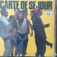 Discos de vinilo: CARTE DE SEJOUR -RHORHOMANIE- LP 1986 DRO SPAIN. Lote 104117535