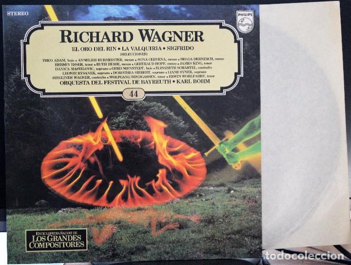 REGALA-TE MÚSICA CLÁSICA: *LOS GRANDES COMPOSITORES* -RICHARD WAGNER- Nº44 (Música - Discos de Vinilo - Maxi Singles - Clásica, Ópera, Zarzuela y Marchas)