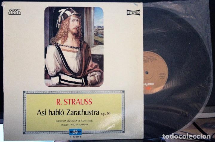 REGALA-TE MÚSICA CLÁSICA: *CAUDAL CLÁSICO* -R. STRAUSS- ASÍ HABLÓ ZARATUSTRA. (Música - Discos de Vinilo - Maxi Singles - Clásica, Ópera, Zarzuela y Marchas)