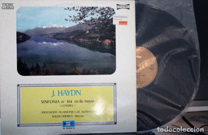 REGALA-TE MÚSICA CLÁSICA: *CAUDAL CLÁSICO* -J. HAYDN- SINFONÍA Nº 104 EN RE MAYOR. (Música - Discos de Vinilo - Maxi Singles - Clásica, Ópera, Zarzuela y Marchas)