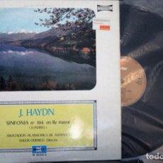 Discos de vinilo: REGALA-TE MÚSICA CLÁSICA: *CAUDAL CLÁSICO* -J. HAYDN- SINFONÍA Nº 104 EN RE MAYOR.. Lote 104119927