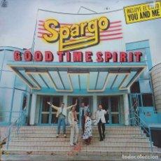Discos de vinilo: SPARGO. GOOTIME SPIRIT. LP ESPAÑA CON FUNDA INTERIOR CON LETRAS. Lote 104121607