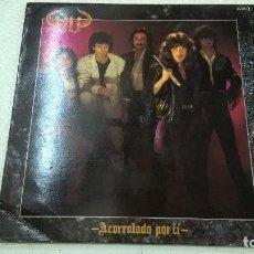 Discos de vinilo: ÑU - ACORRALADO POR TI -LP -CHAPA DISCOS-SERDISCO-AÑO 1984-CON LETRAS-N. Lote 104121819