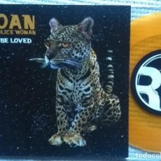 Discos de vinilo: JOAN AS POLICE WOMAN - '' TO BE LOVED '' VINYL ORANGE SINGLE 7'' UK 2008. Lote 104123323