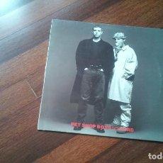 Discos de vinilo: PER SHOP BOYS-SO HARD.MAXI ESPAÑA. Lote 104126151
