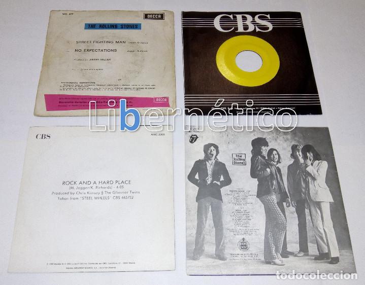 Discos de vinilo: The Rolling Stones – Ruby Tuesday – Sex Drive – Brown Sugar…– Lote de 7 singles – 5 Promo - Foto 3 - 104131167