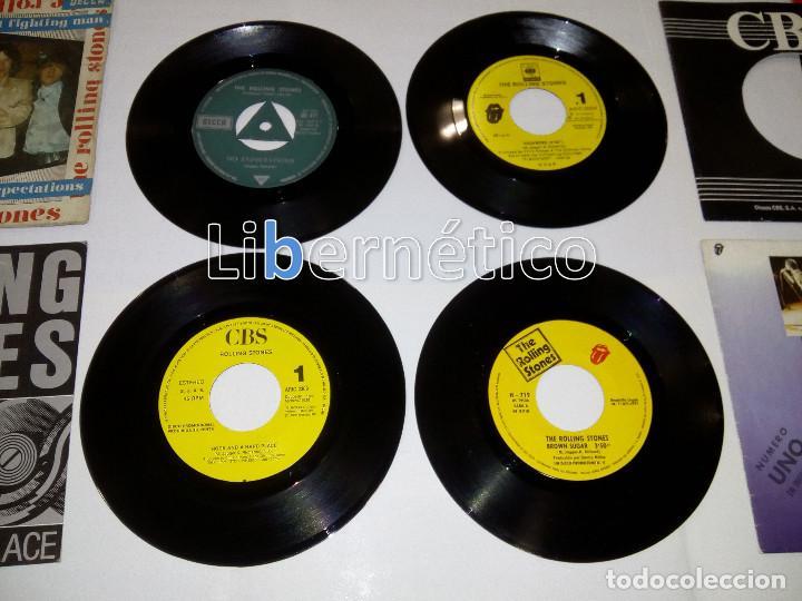 Discos de vinilo: The Rolling Stones – Ruby Tuesday – Sex Drive – Brown Sugar…– Lote de 7 singles – 5 Promo - Foto 4 - 104131167