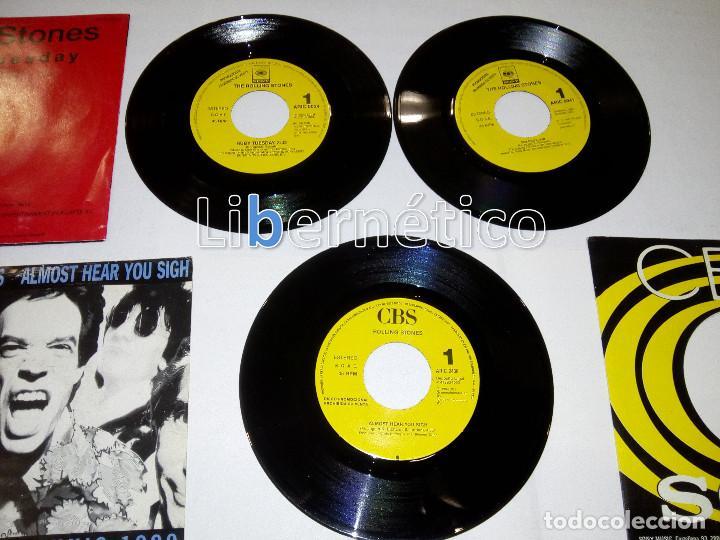 Discos de vinilo: The Rolling Stones – Ruby Tuesday – Sex Drive – Brown Sugar…– Lote de 7 singles – 5 Promo - Foto 7 - 104131167