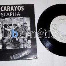 Discos de vinilo: LOS CARAYOS ?– MUSTAPHAISLAND ?– SINGLE PROMO ?– ISLAND RECORDS 1990. Lote 104137379