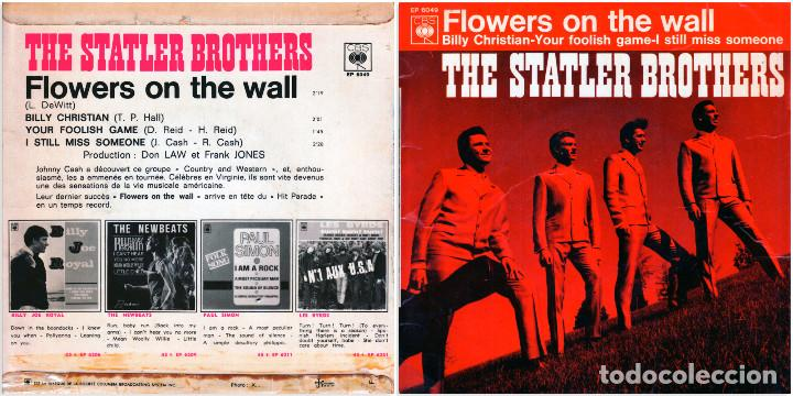 The Statler Brothers Flowers On The Wall Wh Buy Vinyl Records