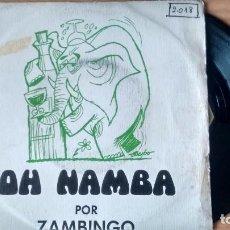 Disques de vinyle: SINGLE (VINILO) DE ZAMBINGO AÑOS 70. Lote 104156167