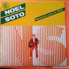 Discos de vinilo: NOEL SOTO APUESTA POR LA PAZ MAXISINGLE 4 TEMAS (SABINA) 1983. Lote 104165207