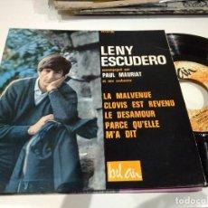 Discos de vinilo: EP LENY ESCUDERO LA MALVENUE EX . Lote 104172455