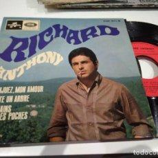 Discos de vinilo: EP RICHARD ANTONY ARANJUEZ NON AMOUR VG++. Lote 104172751