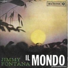 Discos de vinilo: JIMMY FONTANA - IL MONDO (RCA VICTOR-1965). Lote 104175599