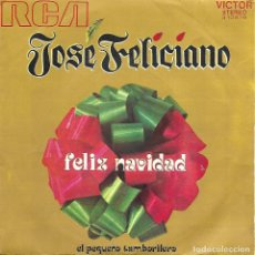 Discos de vinilo: JOSE FELICIANO - FELIZ NAVIDAD (RCA-1971). Lote 104176271
