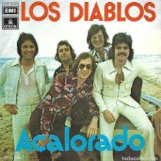 Discos de vinilo: LOS DIABLOS - ACALORADO (EMI-ODEON - 1974). Lote 104176627