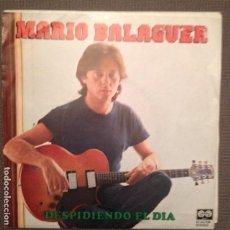 Discos de vinilo: MARIO BALAGUER DESPIDIENDO EL DIA / AL SUR DEL CARIBE SG 1980 AUVI SANTABARBARA. Lote 104177391