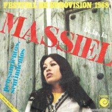 Discos de vinilo: MASSIEL - LA LA LA (NOVOLA-1968). Lote 104177427